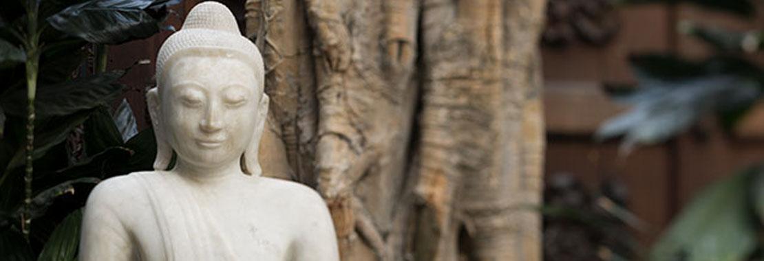 Figur eines Buddhas