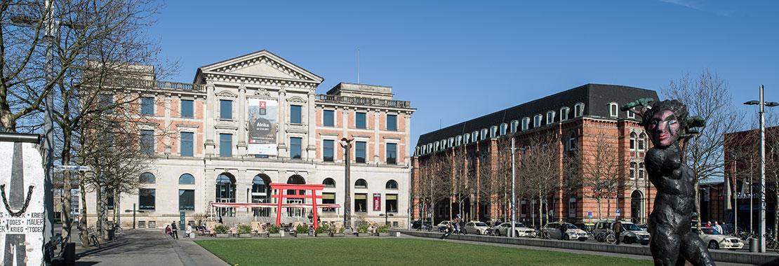 Das Museum mit umliegenden Gebäuden